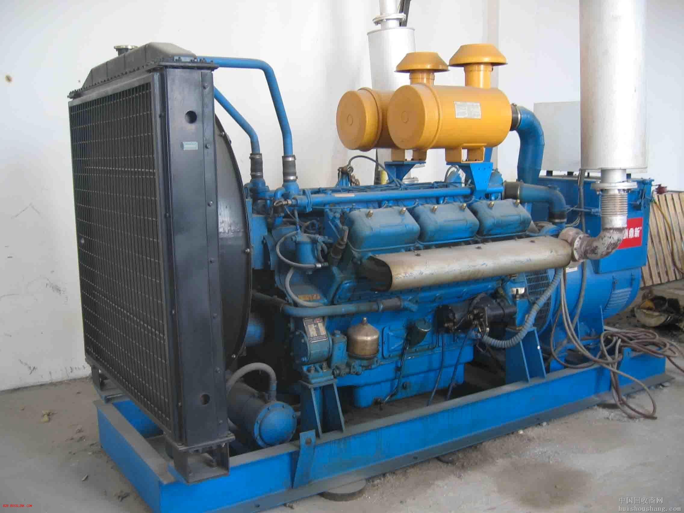 重庆蓝色二手发电机出售