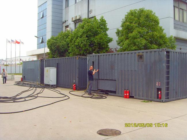 重庆集装箱二手发电机