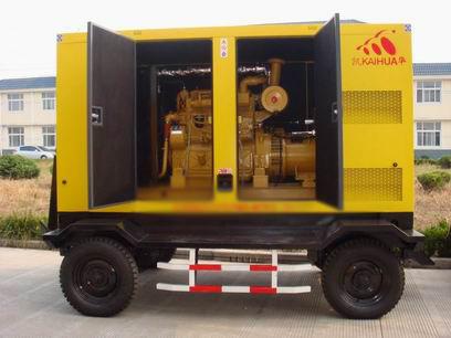 重庆应急发电机-300kw移动静音发电机组