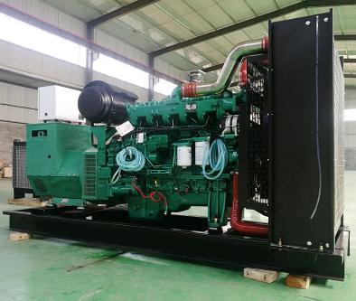 重庆綦江县泰豪500kw大型柴油发电机组
